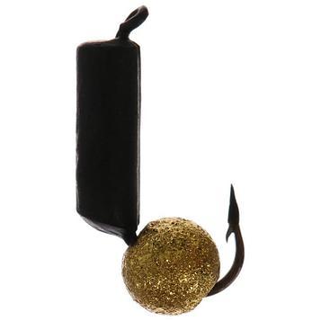 Мормышка вольфрам Столбик 2,5 с шар. звездная пыль 356 Premier Fishing (PR-M-356)