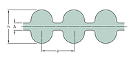 PHG DA-1360-8M-45 ремень SKF