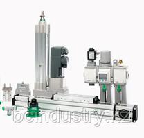 A70.093165 - Плита дозатора микросмазки всборе с фитингами и коаксиальным шлангом (Dнар=6мм, L=5м) п