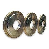 Круг алмазный шлифовальный для обработки кромки стекла 175*63.4, форма 14LL1H-90 (еврокромка), стекло 8мм, фото 1