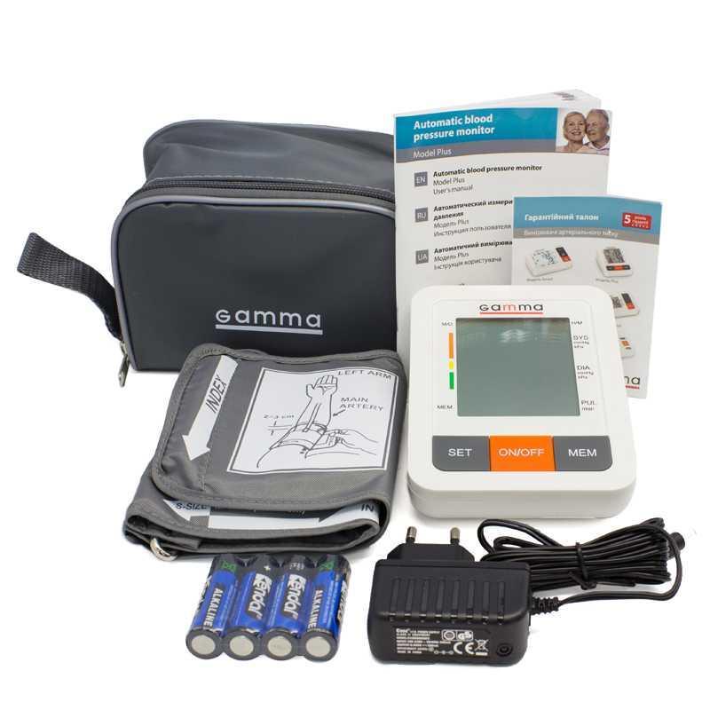 Автоматический тонометр на плечо GAMMA Plus - фото 2