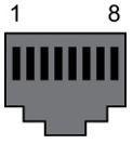 Нумерация контактов RJ45