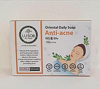 Мыло Анти- акне Oriental Daily Soap Anti-acne от Lusob 100g., фото 1