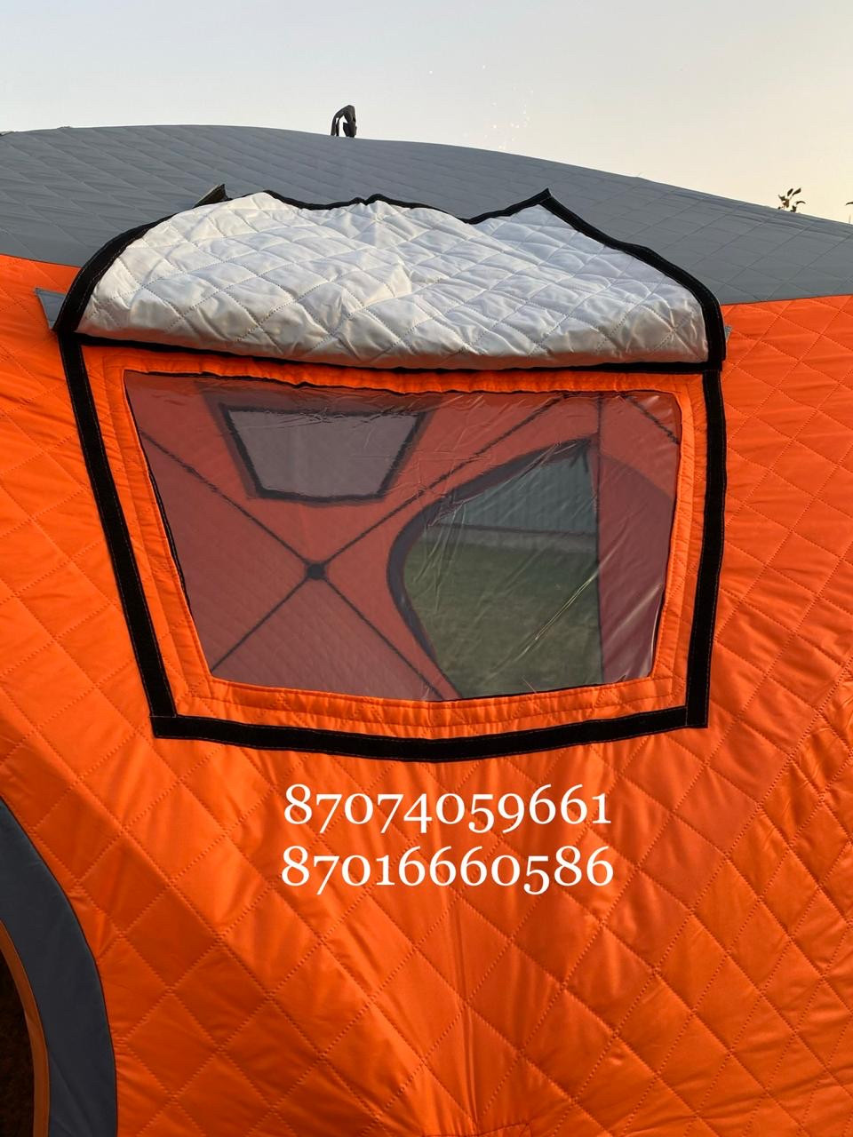 Куб трёхслойный для зимней рыбалки - фото 2