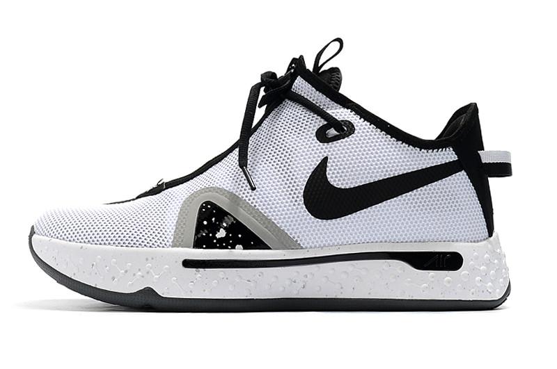 "Баскетбольные кроссовки Paul George 4 ""Black&White"" (40-46) - фото 3"