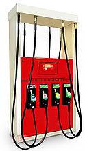 ТРК Б/У Tokheim Quantium 400T 4х8 всасывающего типа на четыре сорта топлива
