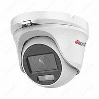 Купольная HD-TVI видеокамера HiWatch ColorVu DS-T203L