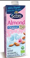 Миндальный напиток натуральный с сиропом агавы Riso Scotti, 1 л