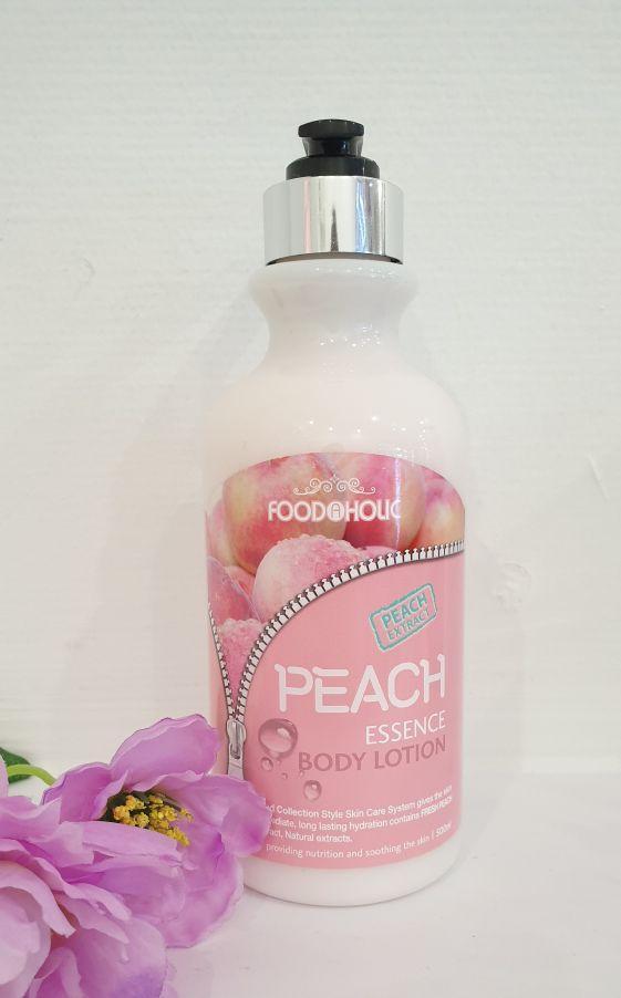 Увлажняющий лосьон для тела Foodaholic Body Lotion Peach 500ml.