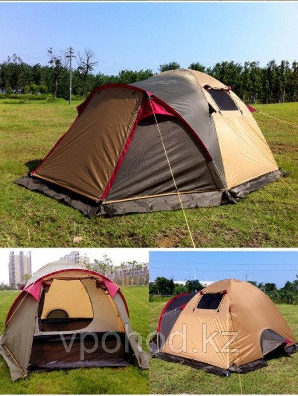 Палатка Min X-ART 1508 двухместная  (50+210) *220*130 см