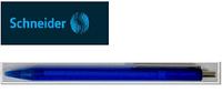 Ручка шариковая NEW Model EVO, синяя прозрачная
