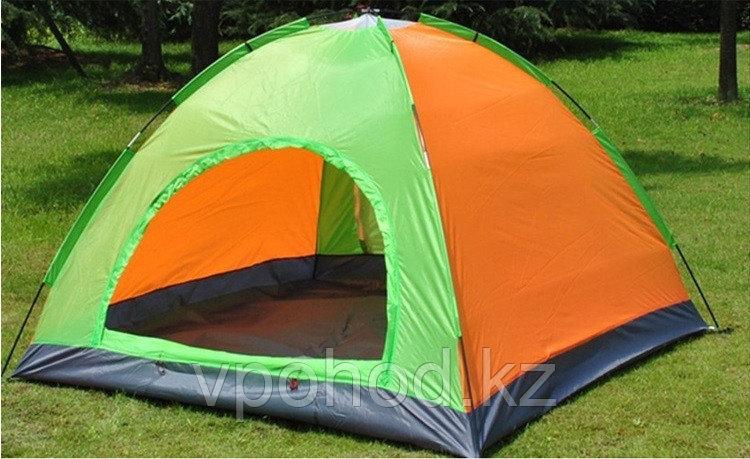 Туристическая палатка (трехместная) 200х200х135 см