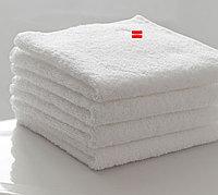 Полотенце 30*30 белое махровое