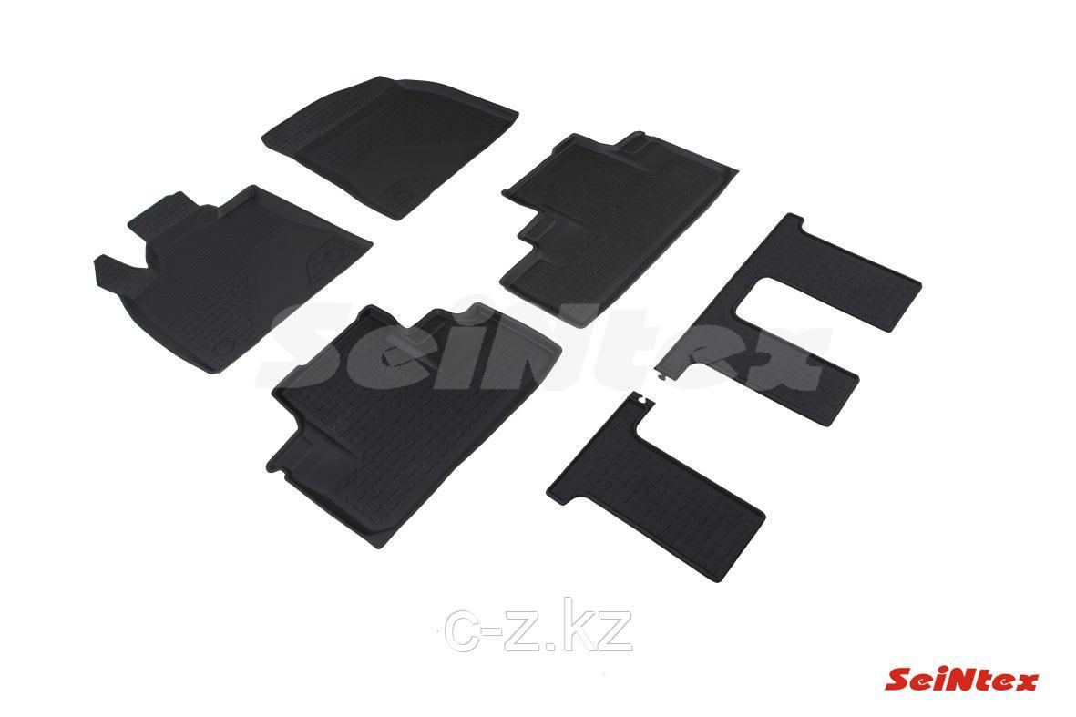Резиновые коврики с высоким бортом для Lexus RX IV (long) 2018-н.в.