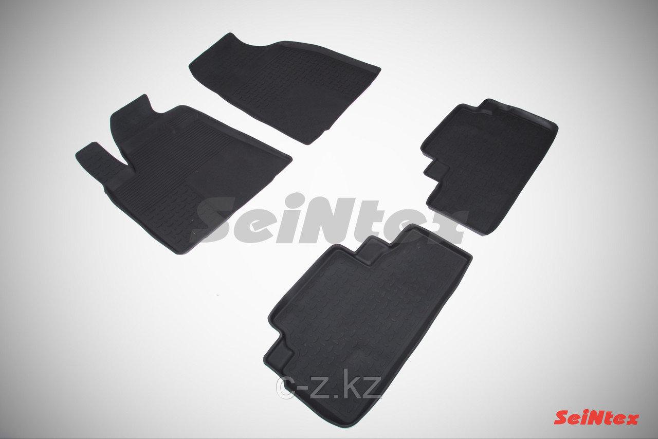 Резиновые коврики с высоким бортом для Lexus RX 2009-2015