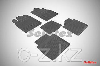 Резиновые коврики с высоким бортом для Lexus ES VI 2012-н.в.