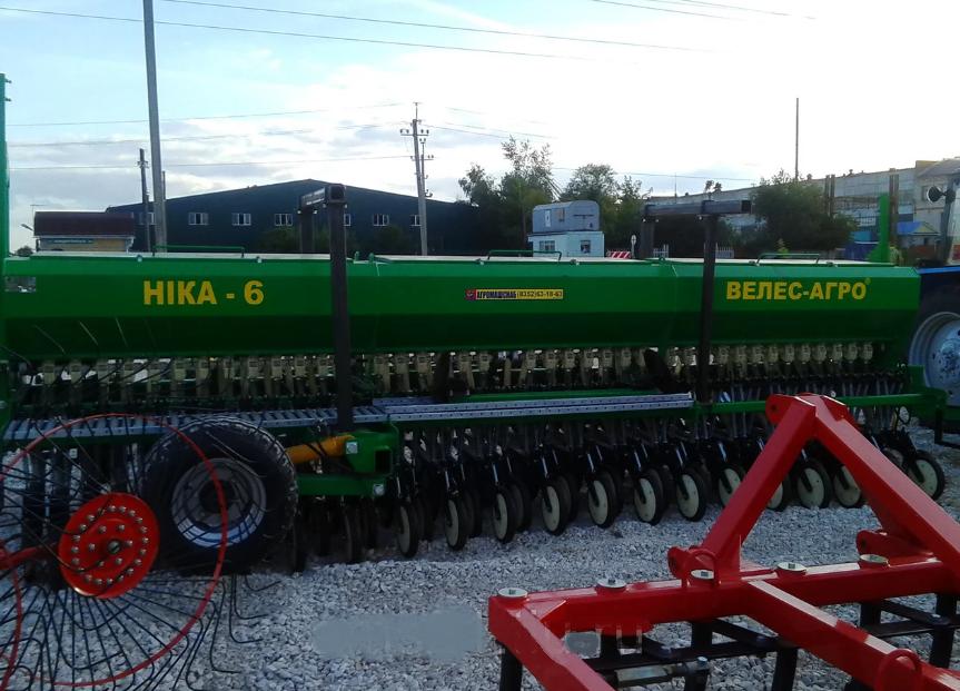 Зерновая сеялка серии СЗМ-6 Ника,прицепная (Велес-Агро)