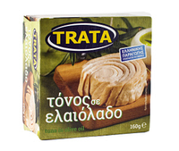 Тунец Trata в оливковом масле 160 г