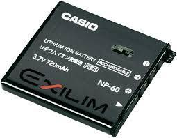 Аккумуляторы для фото/видео Casio