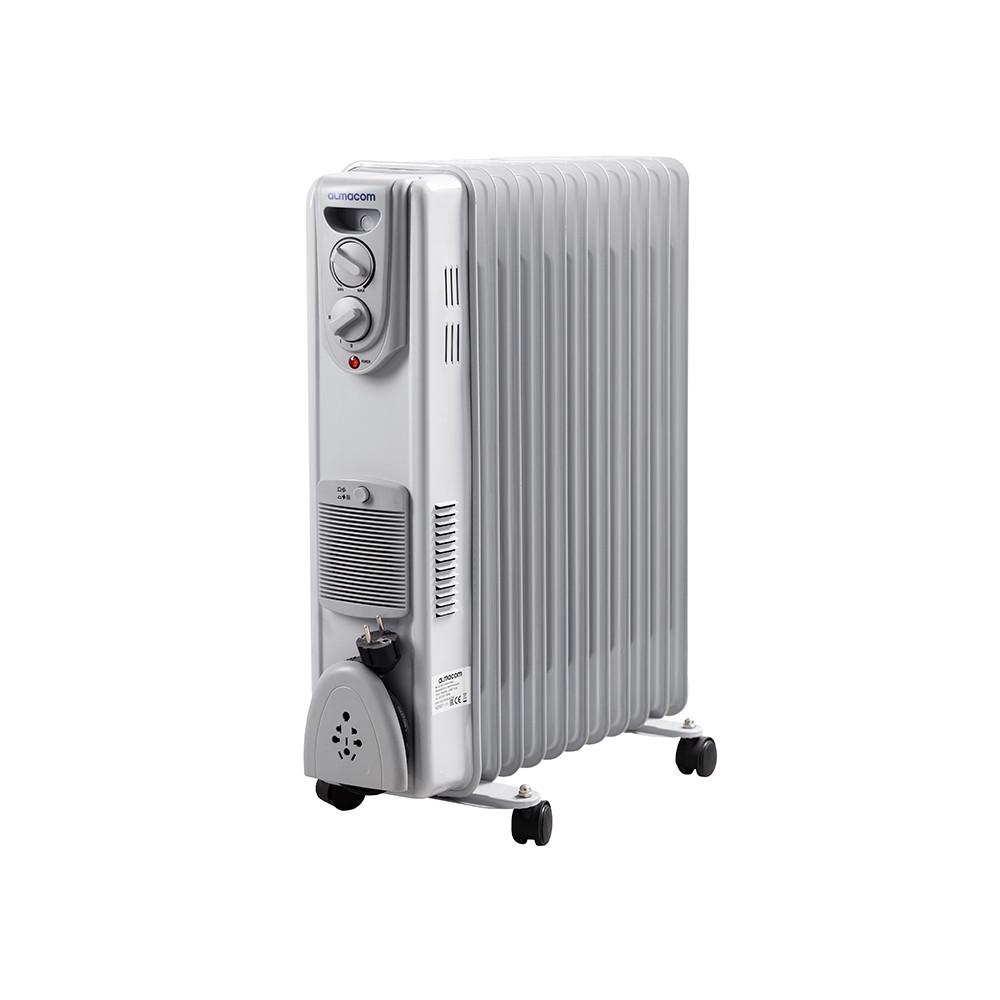 Масляный радиатор Almacom ORF-11H c вентилятором