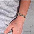 Магнитный браслет Адамантин Gold, фото 5