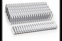 Пластиковые пружины овальные 32 ММ/300  (50 шт, White)