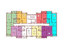 1 комнатная квартира в ЖК Техникум 2 43.4 м², фото 1