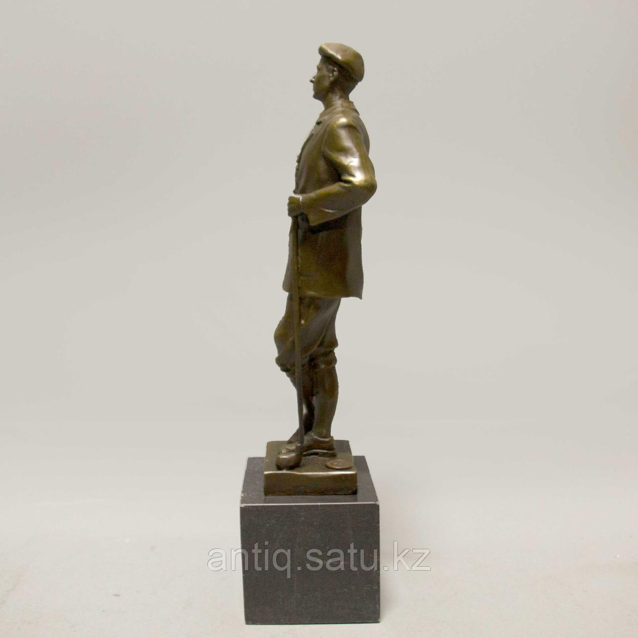 Игрок в гольф. По авторской модели итальянского скульптора Ernesto Cesaro - фото 4