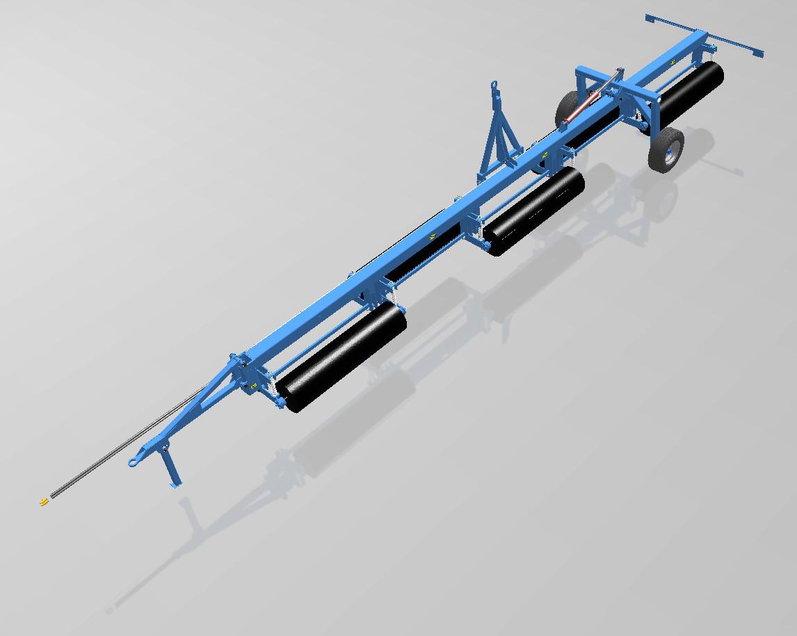 Каток водоналивной гидрофицированный КВНГ-10 480мм