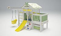 Детская площадка Савушка BABY-6,штурвал, бинокль, кольца гимнастические, швед.стенка, турник., фото 1