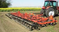 Культиватор для сплошной обработки почвы прицепной Ширина захвата 8,10,12, 14м