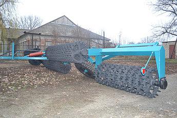 Каток кольчато-шпоровый прикатывающий ККШ 10 (520мм), фото 2