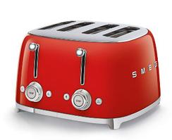 Тостер на 4 ломтика Smeg TSF03RDEU