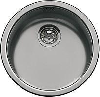 Мойка для кухни Нержавеющая сталь состаренное серебро Smeg 10I3PN