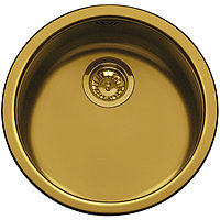 Мойка для кухни Нержавеющая сталь цвет латунный Smeg 10I3POT2