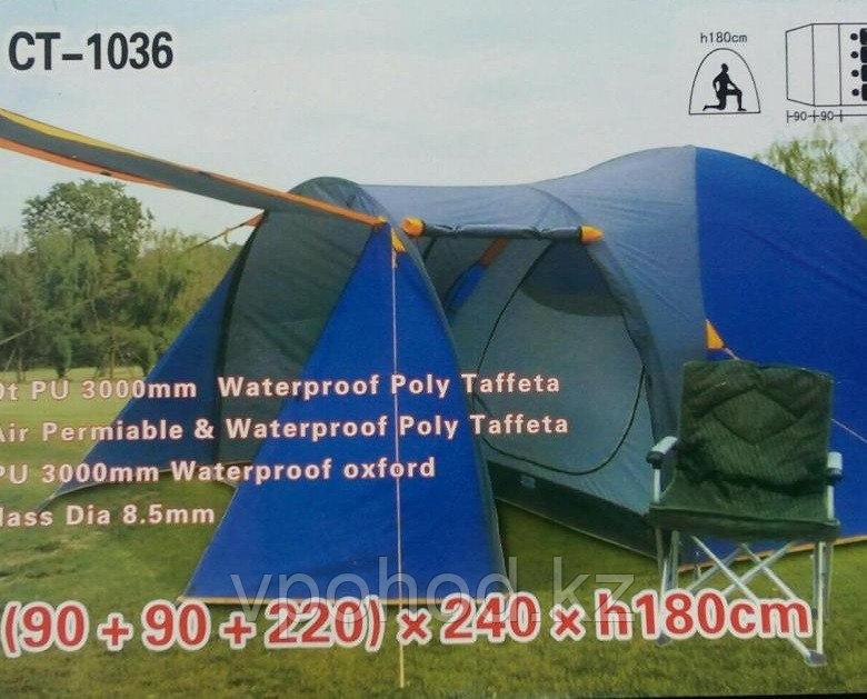 Четырехместная палатка люкс TUOHAI CT-1036 (90 + 90 + 220) * 240 * h180 cm