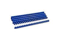 Пластиковые пружины для переплета (19 мм/165, 100 шт, Blue)