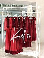 Платье АЖАР красное