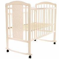 Кровать детская NOLI МИШУТКА колесо-качалка Слон.кость PITUSO