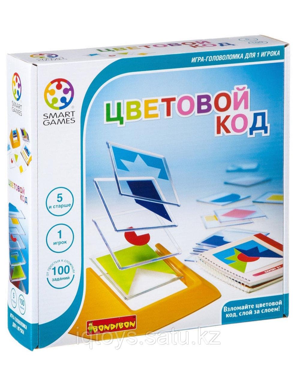 Настольная игра Цветовой код Бондибон (Bondibon)
