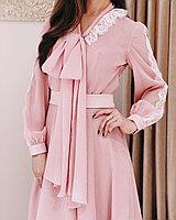 Платье Дамели розовое