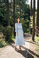 Платье Жасмин голубое