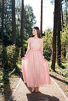 Платье Жасмин розовое