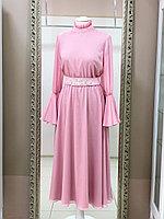 Платье Инжу розовое