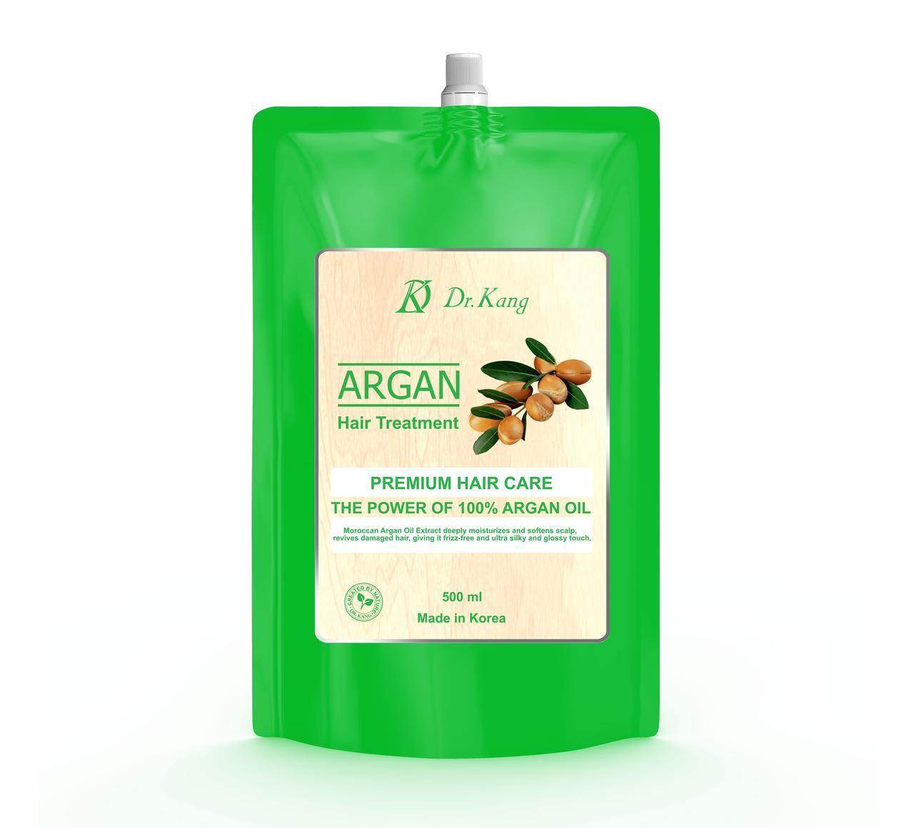 Dr.Kang Бальзам-маска для волос Премиум-класса с аргановым маслом Argan Premium Hair Treatment / 500 мл.