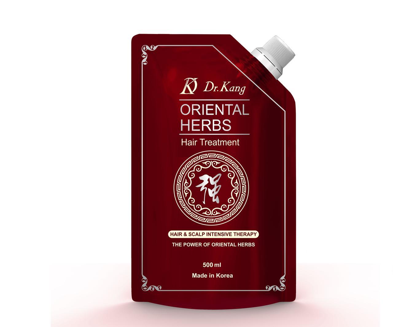 Dr.Kang Маска-бальзам для оздоровления волос и кожи головы Oriental Herbs Hair Treatment / 500 мл.