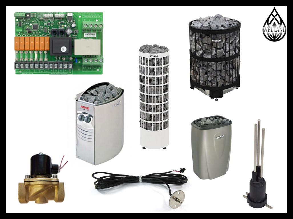 Запасные части для Электрических печей Harvia