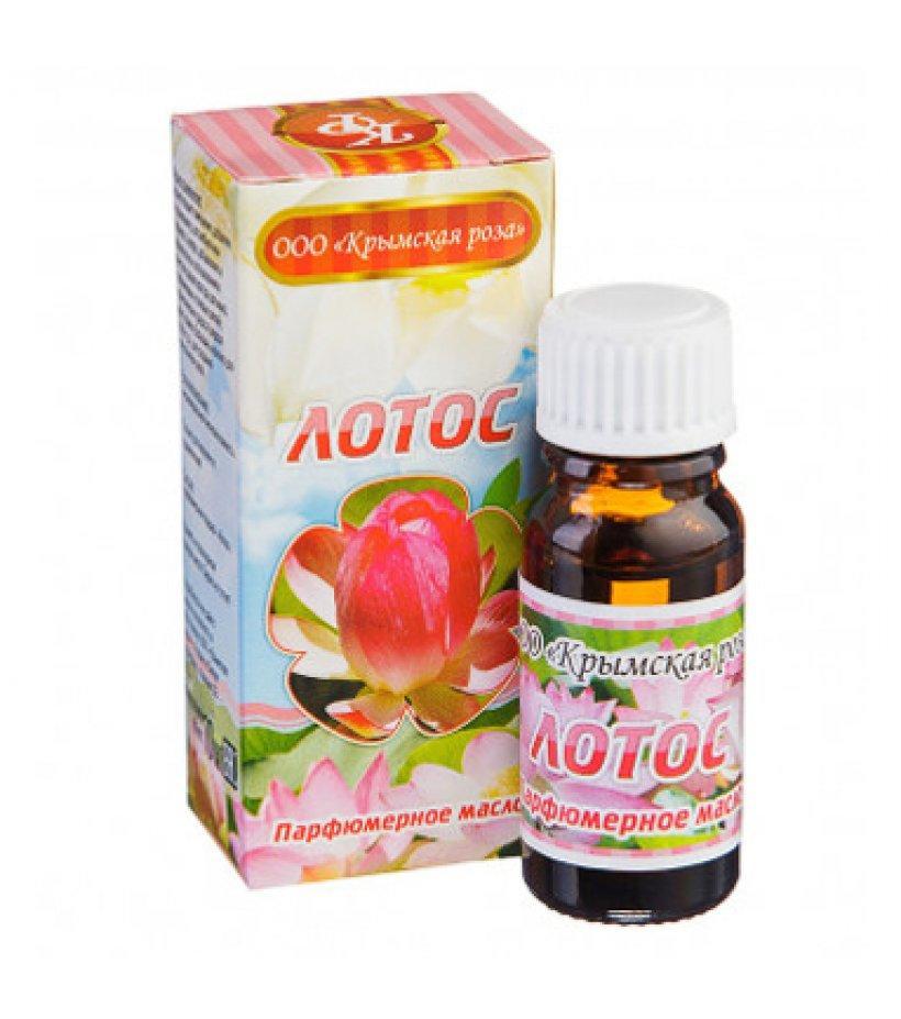 Лотос, парфюмерное масло, 10 мл