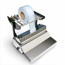 Запечатывающее устройство для рулонов в стоматологии. Упаковочная машина для стерилизации, фото 3