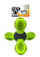 Игрушка для собак Сатурн зеленый14см M-Pets арт.10637399